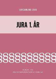 lovsamling 2016 - jura 1. år - bog