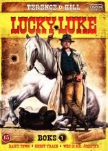 lucky luke - box 1 - DVD
