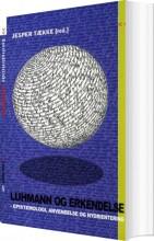 luhmann og erkendelse - bog