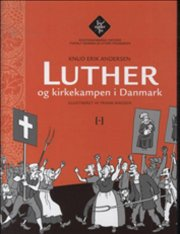 luther og kirkekampen i danmark - bog