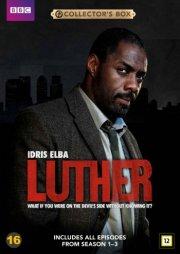 luther - sæson 1-3 - bbc - DVD