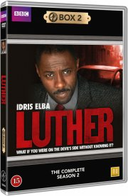 luther - sæson 2 - bbc - DVD