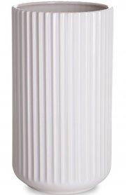 lyngby vase 25 cm hvid - lyngby by hilfling vasen - Til Boligen