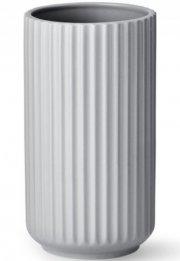 lyngby vase 20 cm grå - lyngby by hilfling vasen - Til Boligen