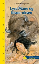lyse måne og bison-oksen - bog
