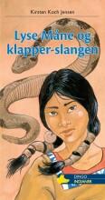 lyse måne og klapper-slangen - bog
