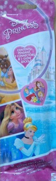 disney prinsesser knæklys halskæde - Udklædning