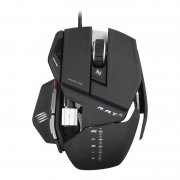 mad catz r.a.t. 5 gaming / gamer mus - sort - Gaming