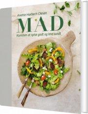 mad - kunsten at spise godt og leve sundt - bog