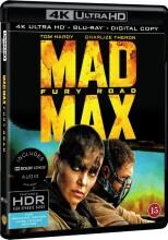 mad max 4 - fury road - 4k Ultra HD Blu-Ray