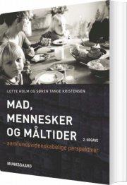 mad, mennesker og måltider - bog