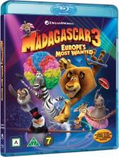 madagascar 3 - efterlyst i hele europa - Blu-Ray