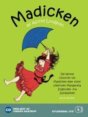 madicken. de første historier om madicken eller stoltjomfruen margareta engstrøm fra junibakken - CD Lydbog