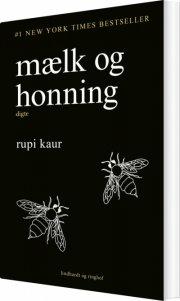 mælk og honning - bog