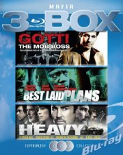 the heavy // best laid plans // gotti the mob boss - Blu-Ray