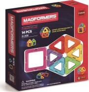 magformers magneter rainbow - 14 dele - Byg Og Konstruér