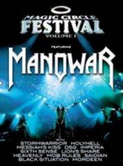 magic circle vol. 1 - featuring manowar - DVD