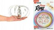magic flow ring i rustfrit stål - Diverse