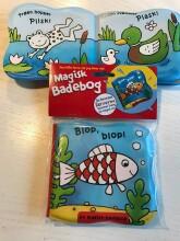 badebog til baby - badebog der skifter farve når den bliver våd - Babylegetøj