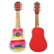 magni musiklegetøj - guitar til børn - pink - Kreativitet