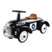 gåbil / gåvogn i metal til baby - politibil - magni - Motorik