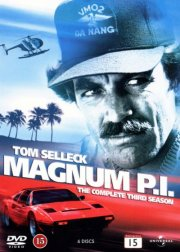Image of   Magnum P.i. - Sæson 3 - DVD - Tv-serie