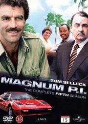 magnum p.i. - sæson 5 - DVD