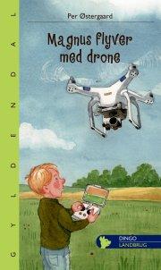 magnus flyver med drone - bog