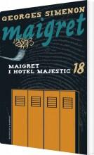 maigret 18 maigret i hotel majestic - bog