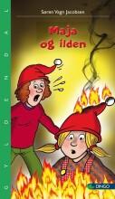 maja og ilden - bog