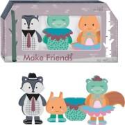 magnetdyr - skovens venner - forest friends - Babylegetøj