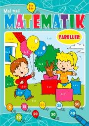 opgavebog - mal med matematik gangetabeller - Kreativitet