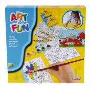 art & fun malesæt - Kreativitet