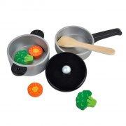 mamamemo legetøjs køkkenredskaber - gryde & pande - Rolleleg