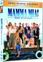 mamma mia 2 - here we go again - DVD