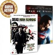 man of steel // dead man running - DVD