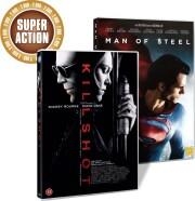 man of steel // killshot - DVD