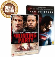 man of steel // the hunting party - DVD