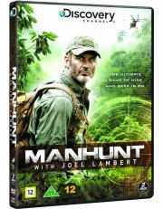 manhunt - with joel lambert - sæson 1 - discovery channel - DVD