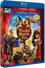 manolos magiske rejse - 3D Blu-Ray
