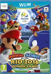 mario & sonic at the rio 2016 olympics games - wii u