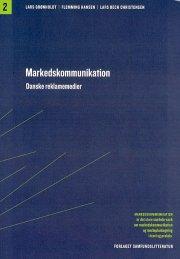 markedskommunikation danske reklamemedier - bog