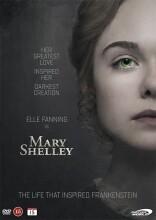 mary shelley - 2017 - DVD
