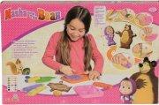 masha og bjørnen legetøj - modellervoks sæt - Kreativitet