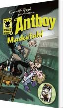 maskefald. antboy 3 - bog