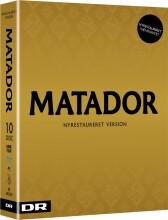 matador - komplet boks - ny restaureret hd version 2017 - Blu-Ray
