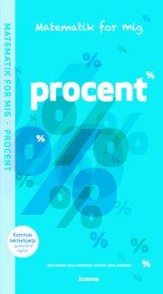 matematik for mig opgavebog: procent  - bog