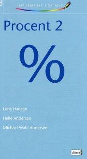matematik for mig, procent 2 - bog