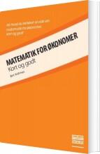 matematik for økonomer - bog