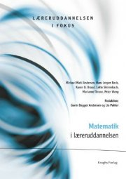 matematik i læreruddannelsen - bog